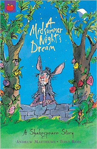 A Midsummer Nights Dream book story by Andrew Mathews